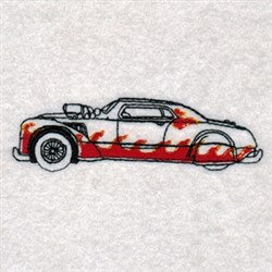 Hot Rods Motorcar embroidery design