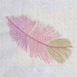 Feather Plume embroidery design