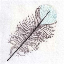 Feather Quill embroidery design