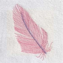 Quill Plume embroidery design