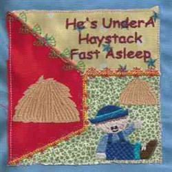 Little Boy Blue Quilt embroidery design