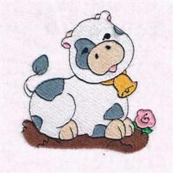 Cow Nativity Scene embroidery design