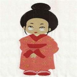 Worlds Best Geisha embroidery design
