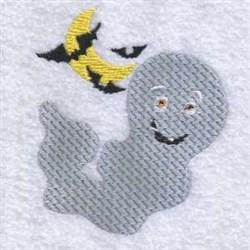Halloween Bats Ghost embroidery design