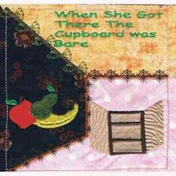Old Mother Hubbard Quilt embroidery design