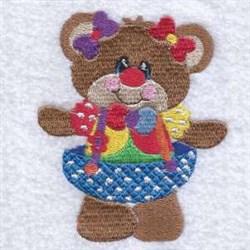 Halloween Bear embroidery design