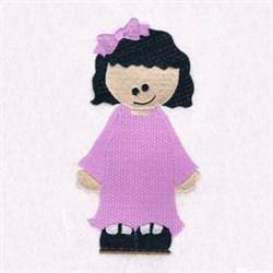 Nursery Girl embroidery design