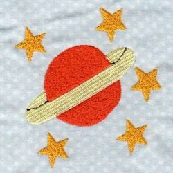 Satellite Outer Space embroidery design
