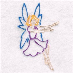Fancy Fairy embroidery design