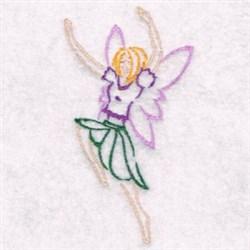 Happy Fairy embroidery design