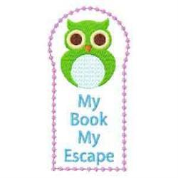 Owl Bookmark embroidery design