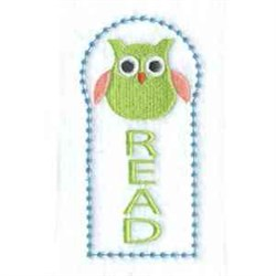 Owl Bookmark embroidery design