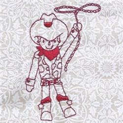 Ride Em Cowboy! embroidery design