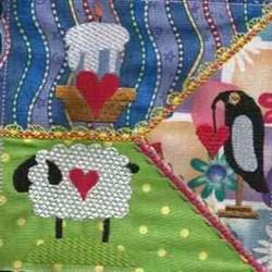 Valentine Quilt embroidery design