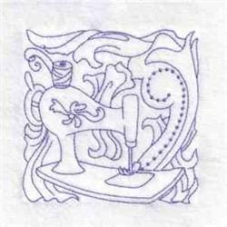 Spring Rose Motif embroidery design