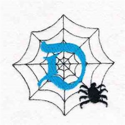Spider Web D embroidery design