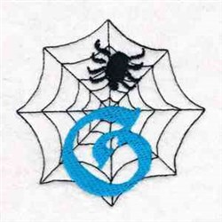 Spider Web G embroidery design