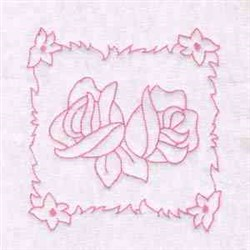Spring Roses embroidery design