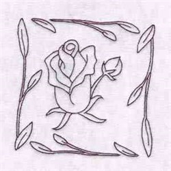 Spring Rose Quilts embroidery design