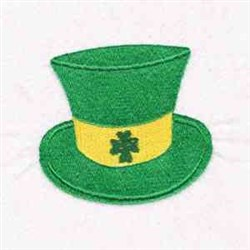 Irish Shamrock Hat embroidery design