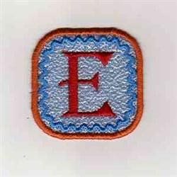 Summer Banner Block E embroidery design