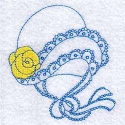 Sun Bonnet embroidery design