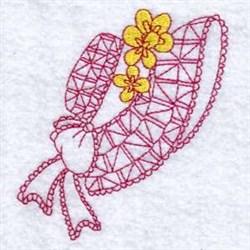 Floral Sun Bonnet embroidery design