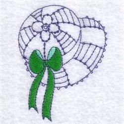 Sun Bonnet Hat embroidery design