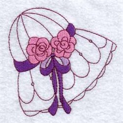 Sun Bonnet Blossom embroidery design