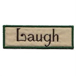 Laugh Frame embroidery design