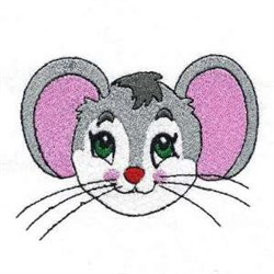Rat Head embroidery design