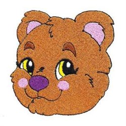 Bear Cub embroidery design