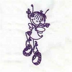 Fairy Dance embroidery design