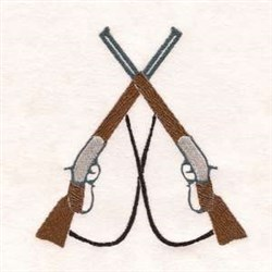 Hunting Guns embroidery design
