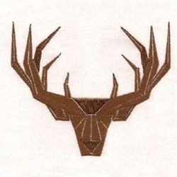 Antlers Head embroidery design