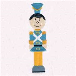 Toy Soldier Force embroidery design