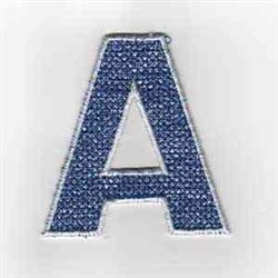 USA Banner A embroidery design