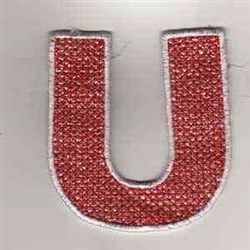 USA Banner U embroidery design