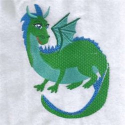 Wild Dragon   embroidery design
