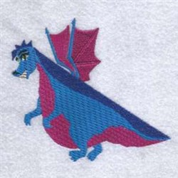 Dragon Wing embroidery design