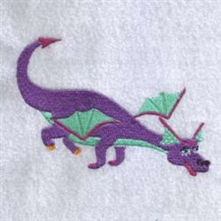 Firedrake Dragon embroidery design
