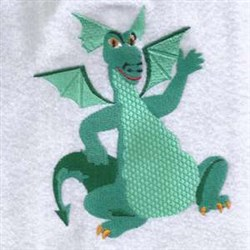 Dancing Dragon embroidery design