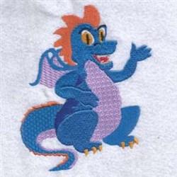 Blue Dragon   embroidery design