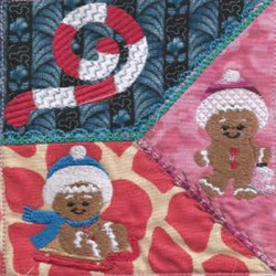 Quilt Gingerbread embroidery design