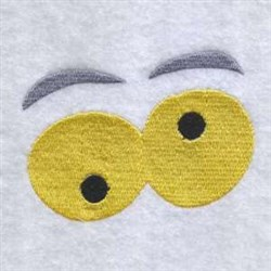 Funny Eyes embroidery design