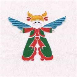 Xmas Holy Angel embroidery design