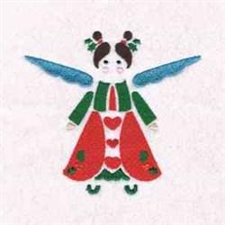 Xmas Cute Angel embroidery design