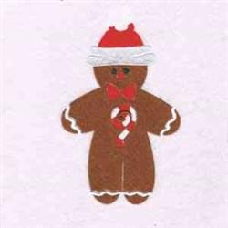 Christmas Gingerbreadman embroidery design