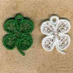 Shamrock Charm embroidery design