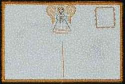 Angel Postcard embroidery design